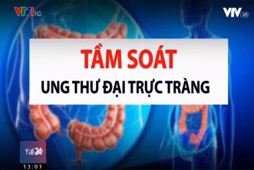 VTV1 - TẦM SOÁT MIỄN PHÍ UNG THƯ ĐẠI TRỰC TRÀNG CHO 1000 NGƯỜI