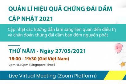 Hội thảo trực tuyến: Quản lý hiệu quả chứng đái dầm cập nhật 2021