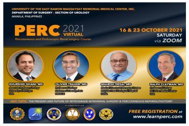 Percutaneous and Endoscopic Renal surgery Course 2021
