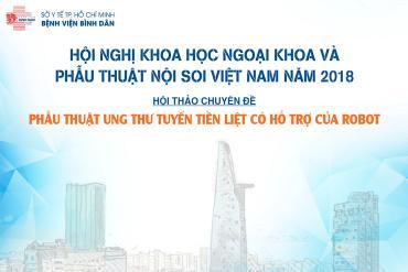 Hội nghị Khoa học Ngoại khoa và Phẫu thuật nội soi Việt Nam năm 2018