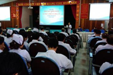 Bệnh viện Bình Dân tổ chức hội thảo kiểm soát nhiễm khuẩn và lễ phát động vệ sinh tay
