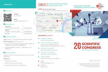 Invitation to attend the 20th Scientific congress of Binh Dan hospital